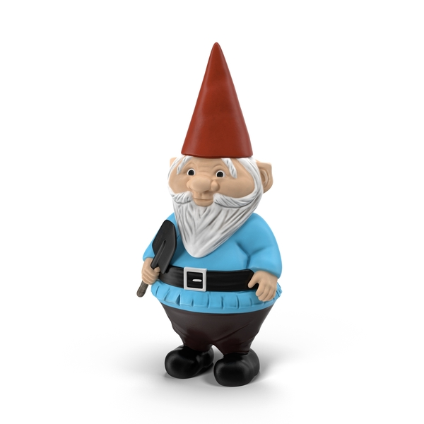 Pudgy Lawn Gnome Object
