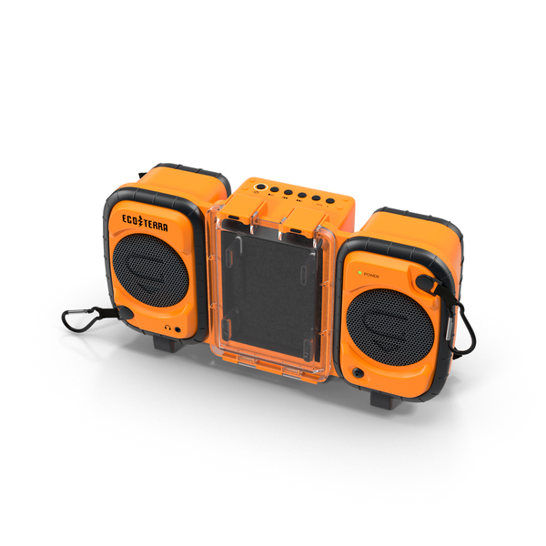 Floating Boombox Object