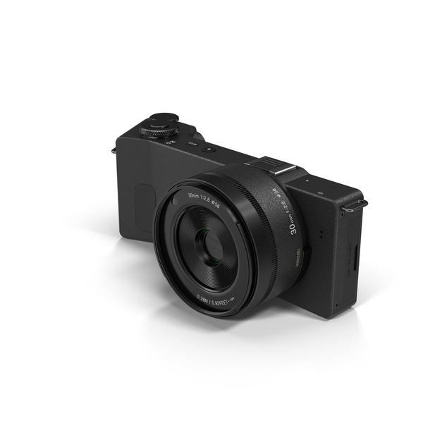 Sigma DP3 Quattro Digital Camera Object