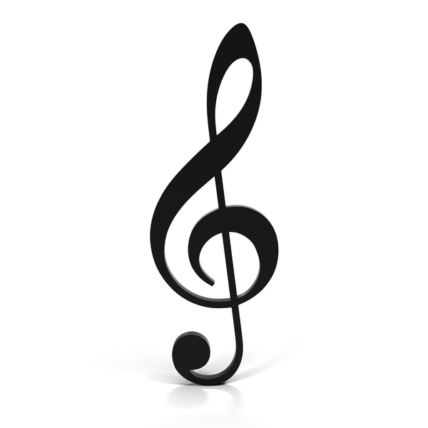 Treble Clef (G clef) Object