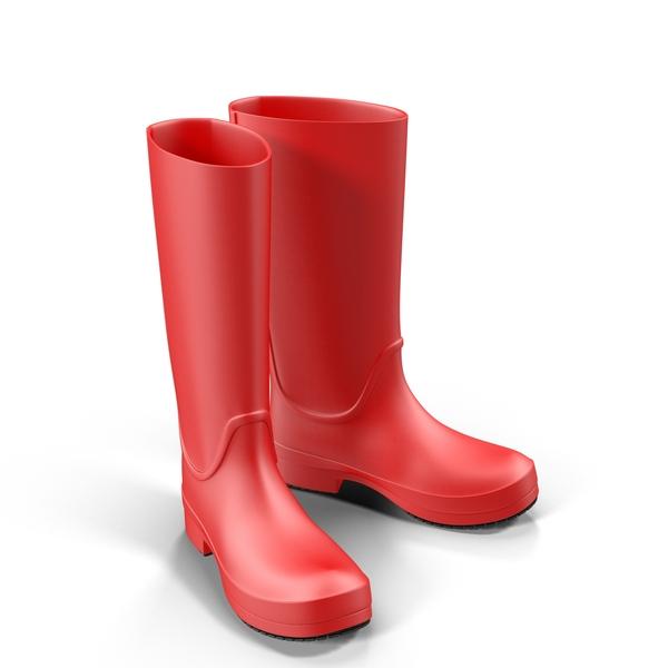 Rain Boots Object