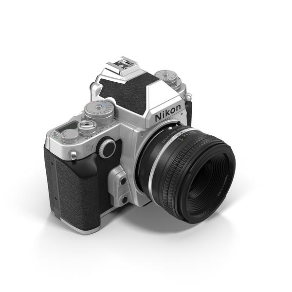 Nikon DF DSLR Camera Object
