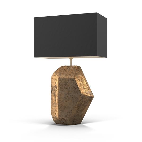 Heathfield Renwick Gold Leaf Lamp Object
