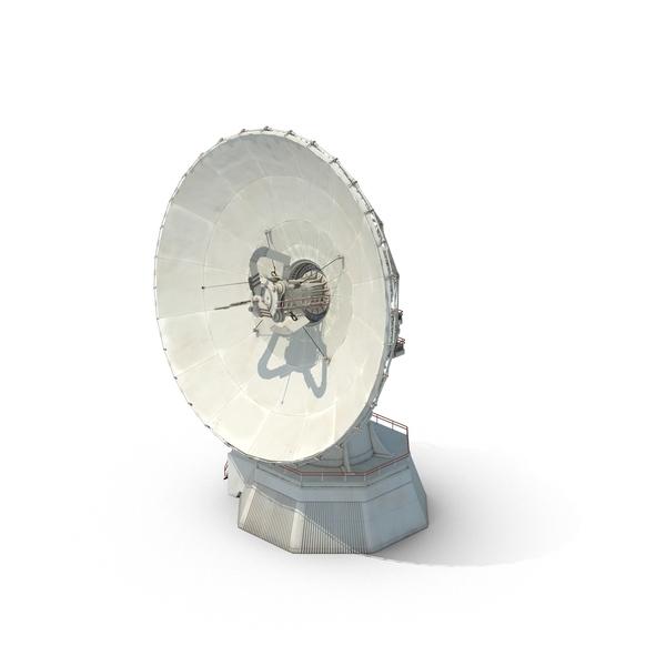 Large Satellite Dish Object