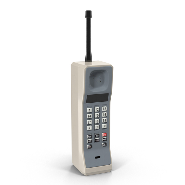 1980's Cell Phone Object