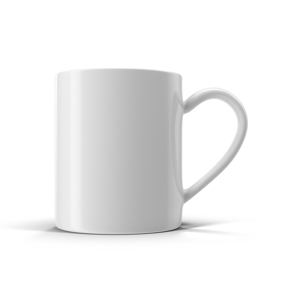 White Tea Cup Object