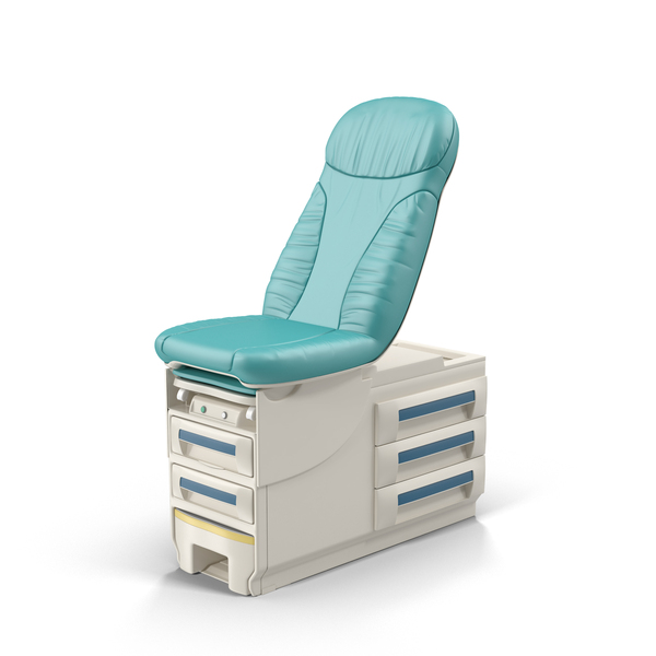 Doctor's Office Exam Table Object