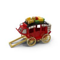 Cartoon Carriage Object