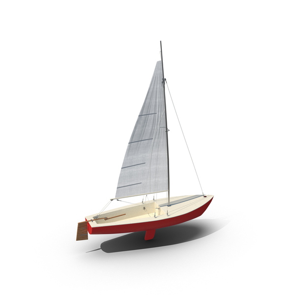 Sailboat Red Object