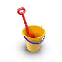 Toy Shovel and Bucket Object