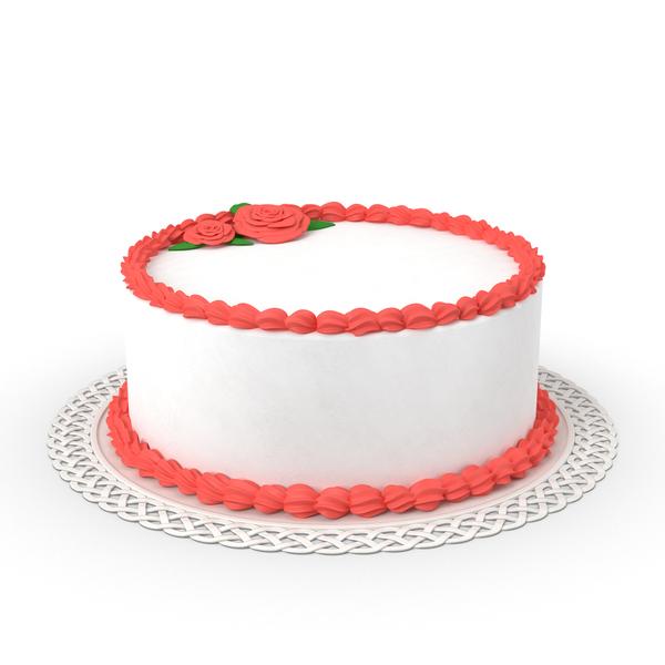 Round Cake Object