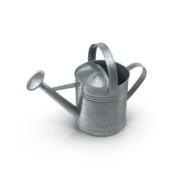 Metal Watering Can Object