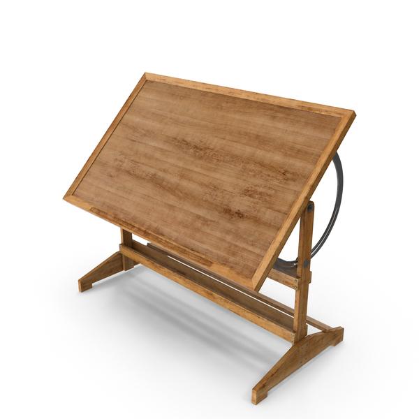 Drafting Desk Object