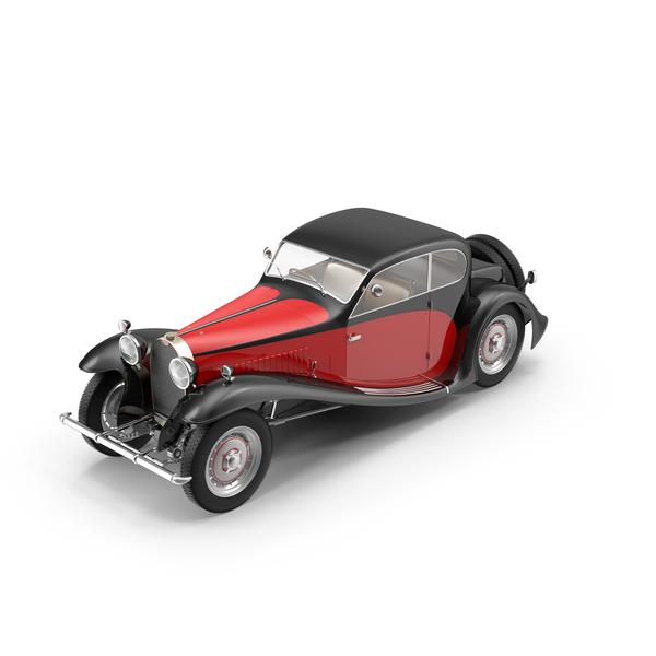 1933 Bugatti Type 50 Object