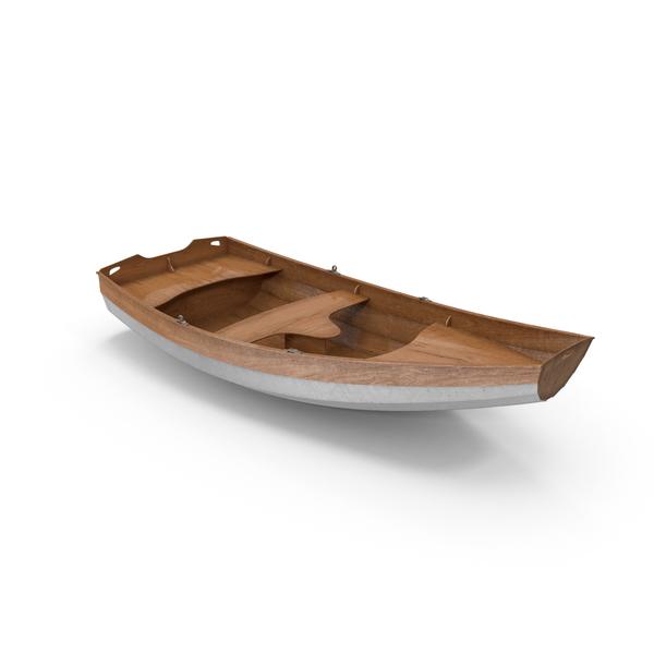 Rowing Boat Object