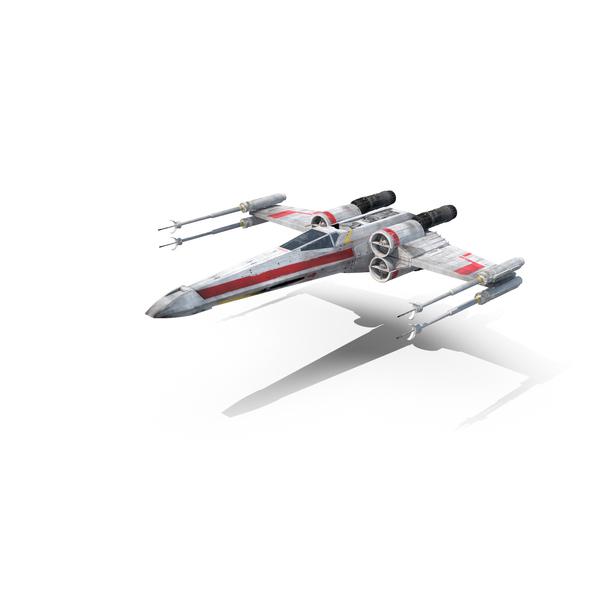 Luke's X-Wing Starfighter Object