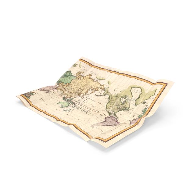 Retro Map Object