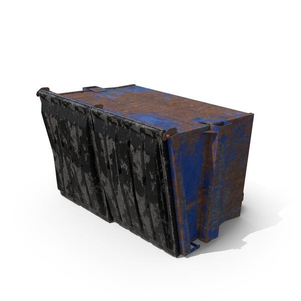Damaged Dumpster Object