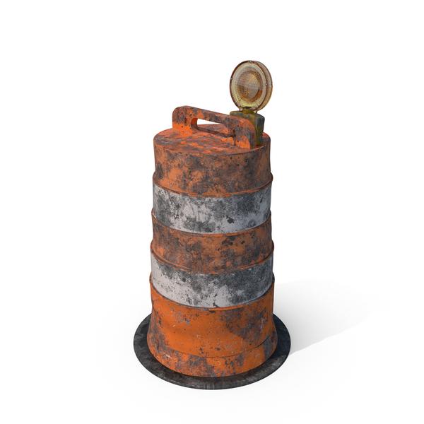 Dirty Barrel Barricade  Object