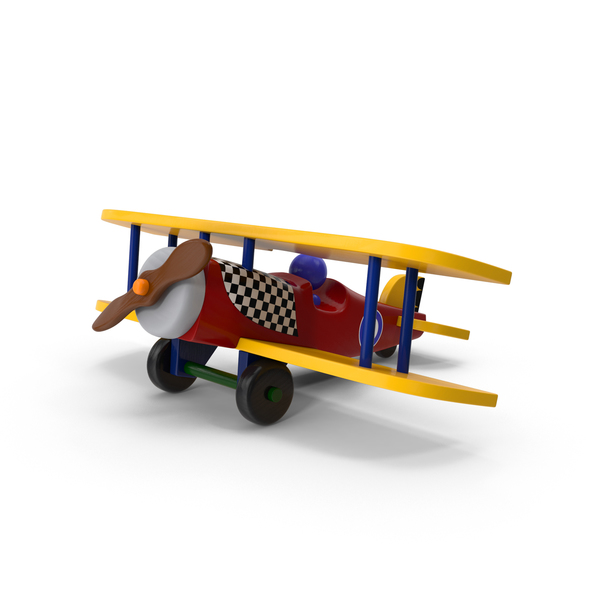 Wooden Airplane Object