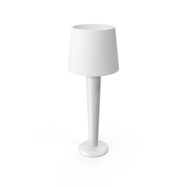 White Lamp Object