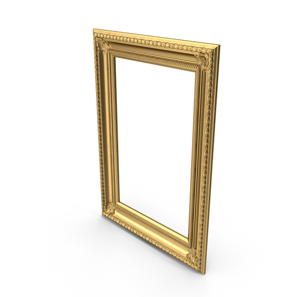 Baroque Picture Frame Object