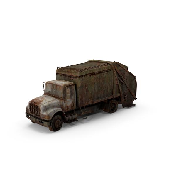 Rusty Dump Truck Object