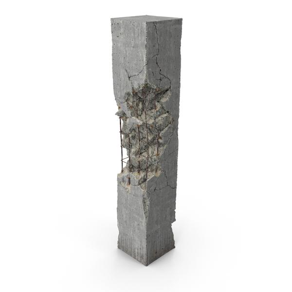 Concrete Pillar Object