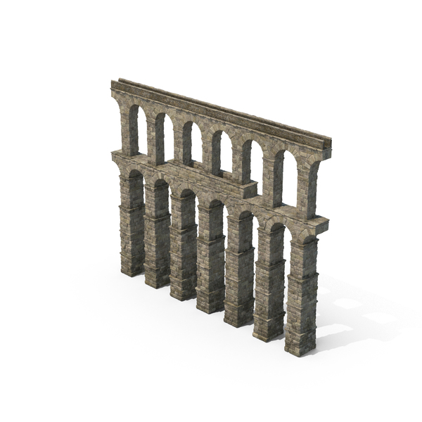 Greco-Roman Aqueduct Section Object