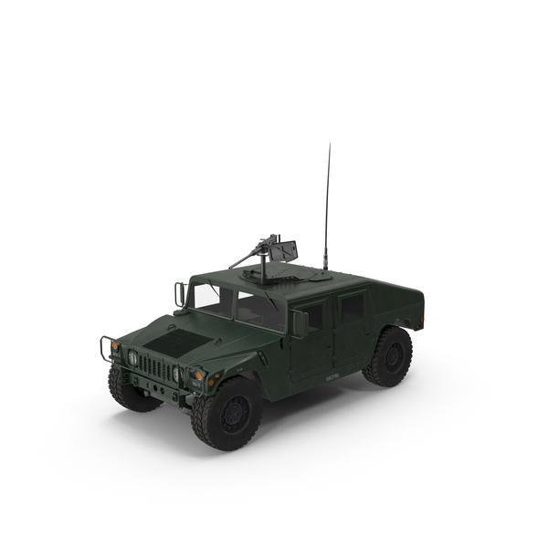 Military Humvee Object