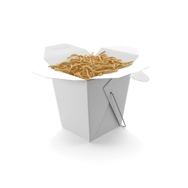 Chinese Takeout Box Object