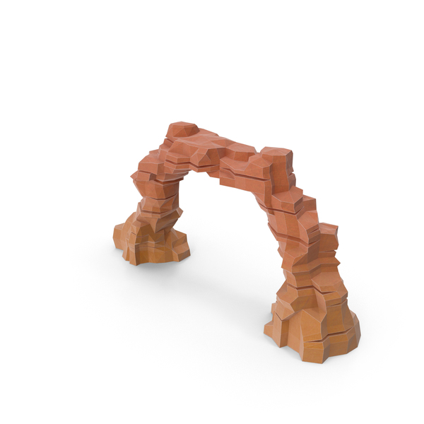 Desert Rock Arch Object
