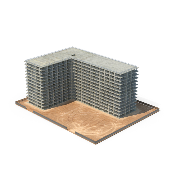 Building Construction Site Object