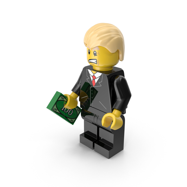 Lego Donald Trump Object