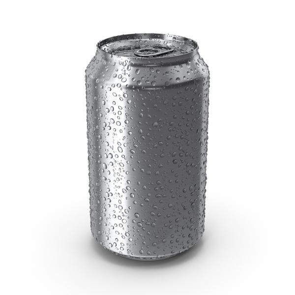 Fresh Soda Can Object