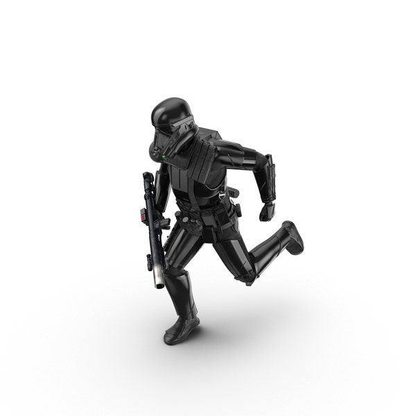 Imperial Death Trooper Running Pose Object