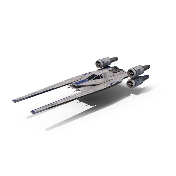 Rebel U-Wing Starfighter Object