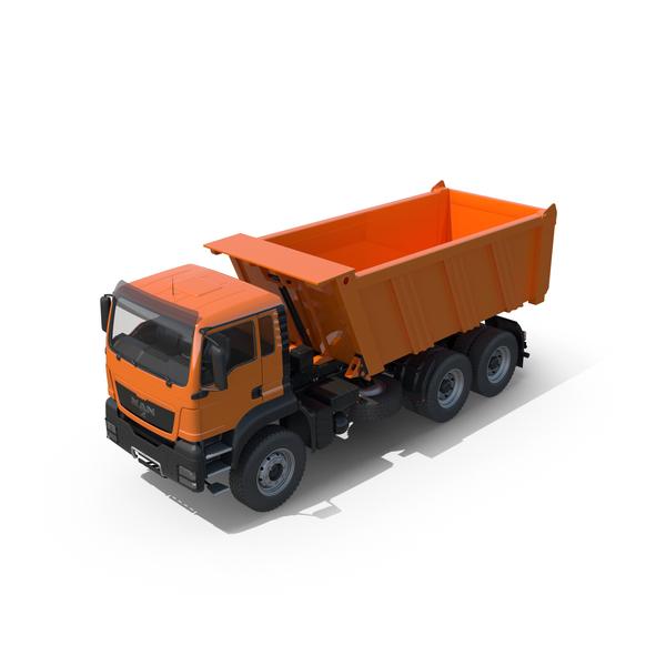 Man Dump Truck Object