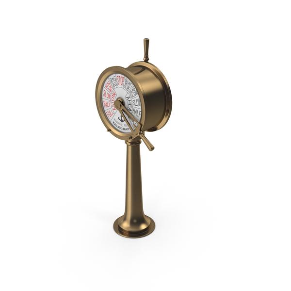 Ship Telegraph Object