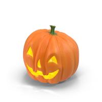 Happy Ceramic Jack-o-Lantern Object